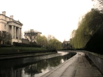 Regent's canal, Regent's Park