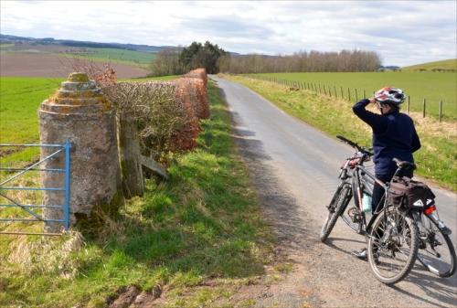 hawick ride gatepost