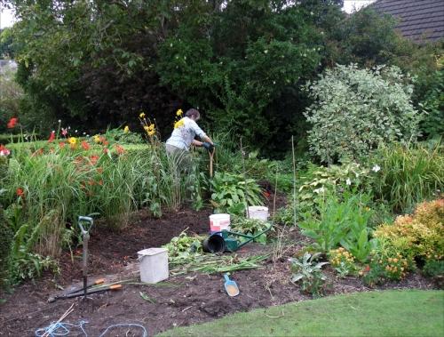 garden changes