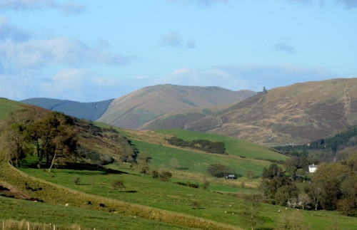 North up the Ewes Valley