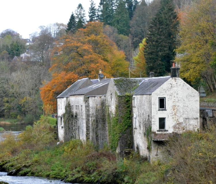 The distillery building