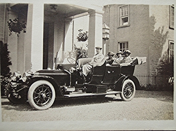 The bishop in his car