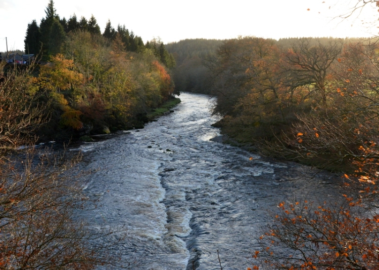 River Esk at Byreburn