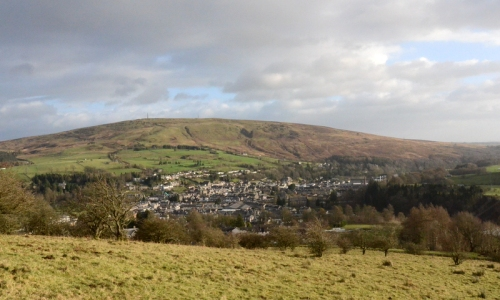 Looking over Langholm