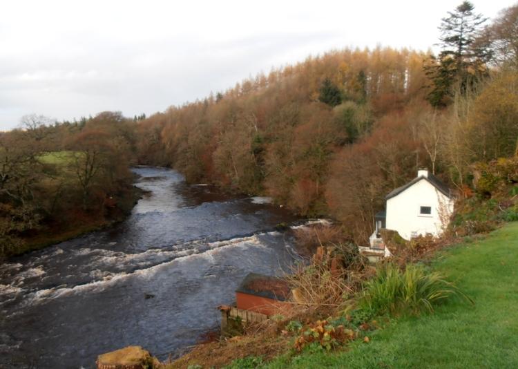 River Esk at Byreburnfoot