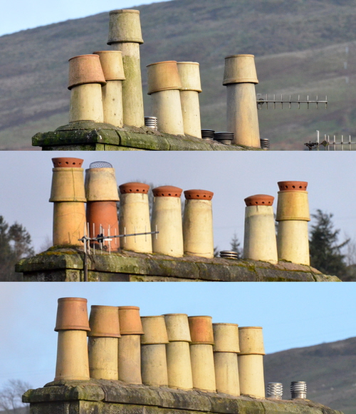 Henry Street chimneys