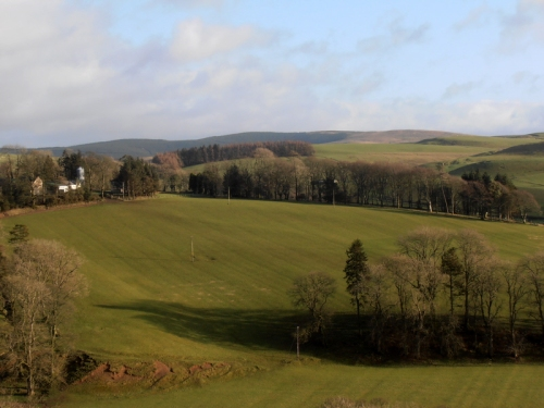 View to the east near Pearsby Hall