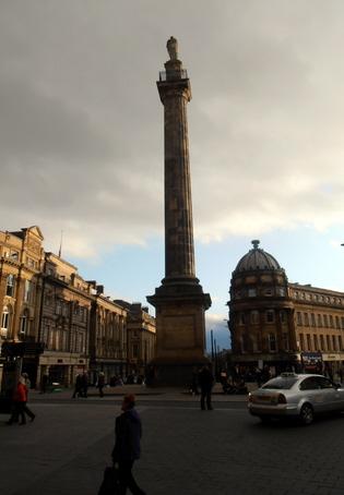 Grey monument