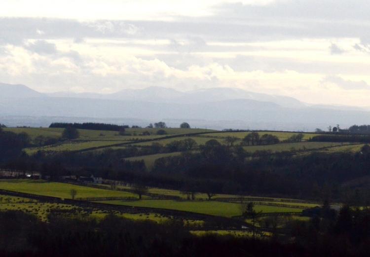 view of Lake District