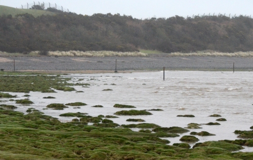 tide in at Powfoot
