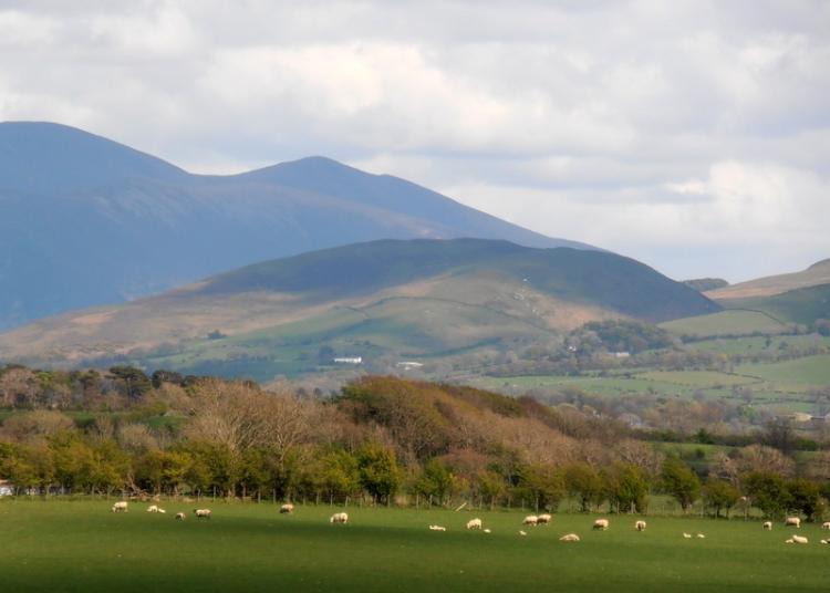 Lake district hills