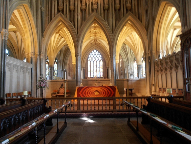 East end Wells cathedral