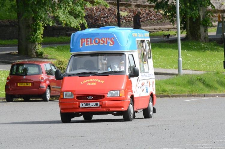 Pelosi's Ice Cream van