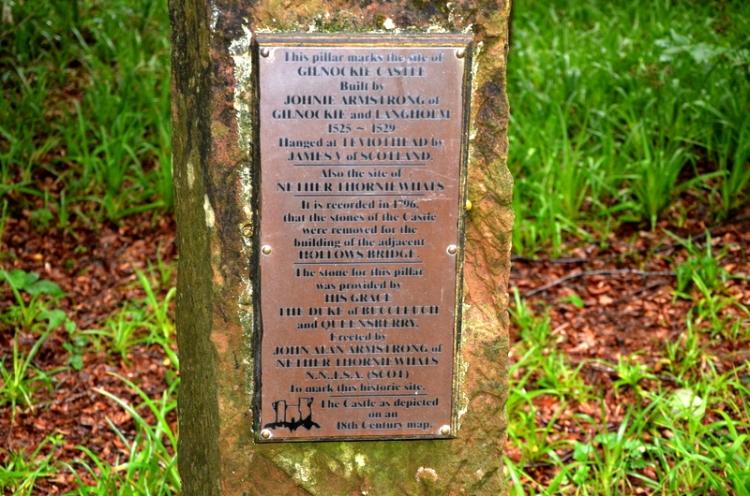 marker Gilnockie Castle