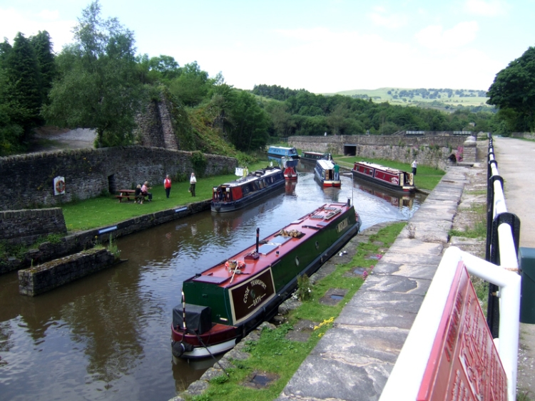 Peak Forest canal Buxworth