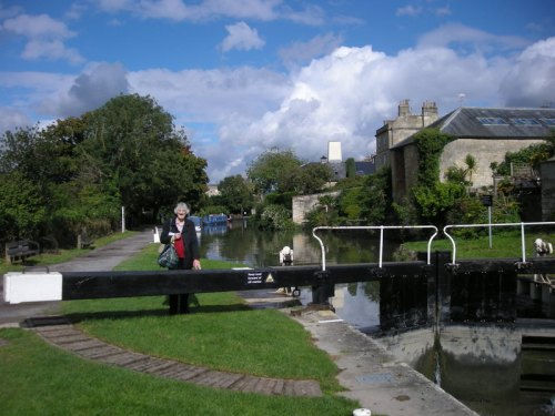 Susan by a canal