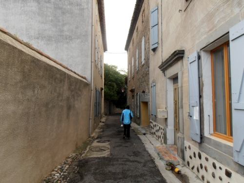Narrow streets in pepieux