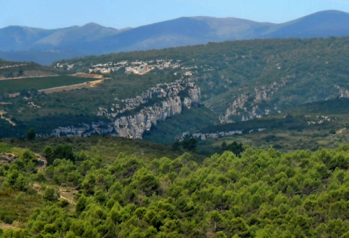 The hills of the Parc Naturel Regional de Haut Languedoc