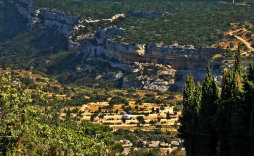 gorge at Minerve