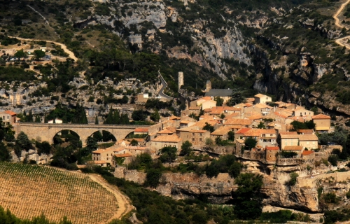 The cité of Minerve