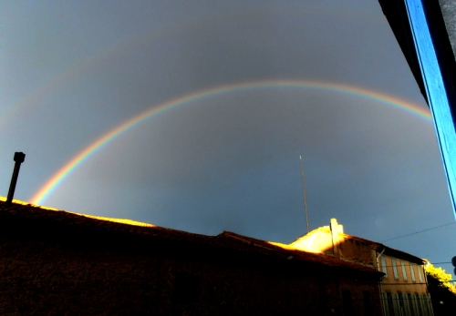 rainbow in pepieux