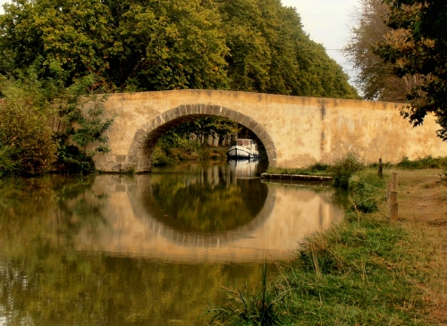 bridge on Canal du Midi