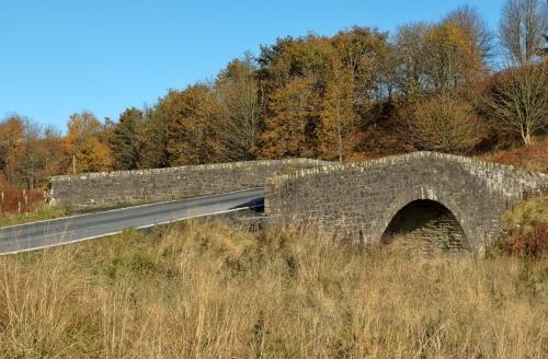 Top bridge over Whitrope burn