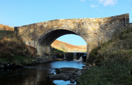 Bridge over Whitrope Burn