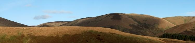 panorama from Carewoodrig
