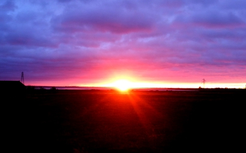 a glimpse of sun