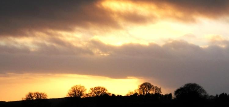 sunset at Barnglieshead