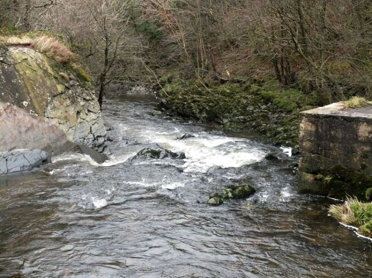no bridge at Bessie Bells