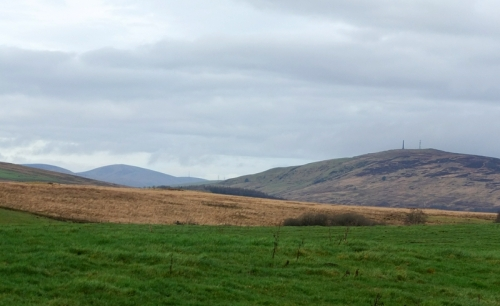 Looking back to Langholm