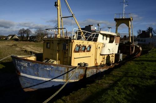 Boat at Glencaple