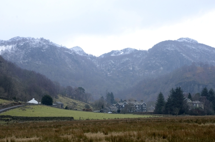 Looking south from Derwent Water