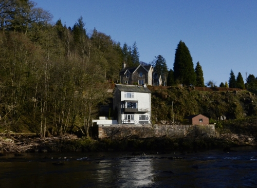 A riverside dwelling