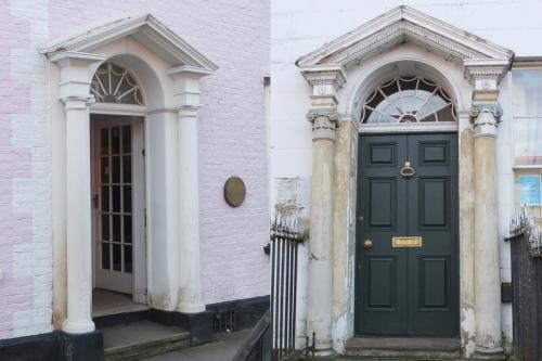doorways in Abbey Street