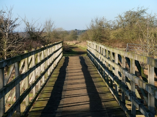 Lyne bridge
