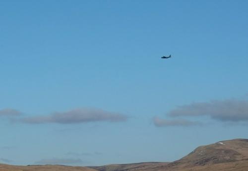 aeroplane over Ewes