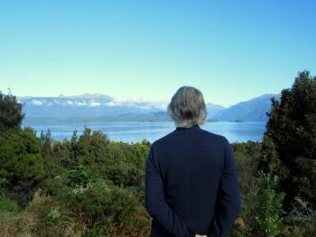Surveying Lake Te Anau