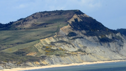 cliff at Lyme