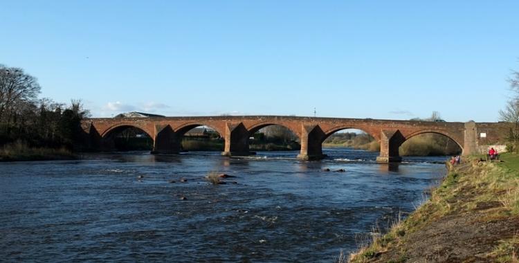 Esk Bridge at Longtown