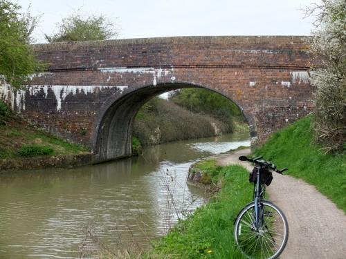bridge and bike