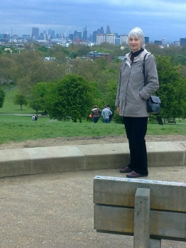 Crutchless on top of parliament hill