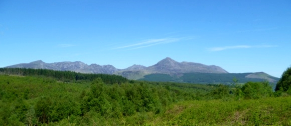 arran mountains