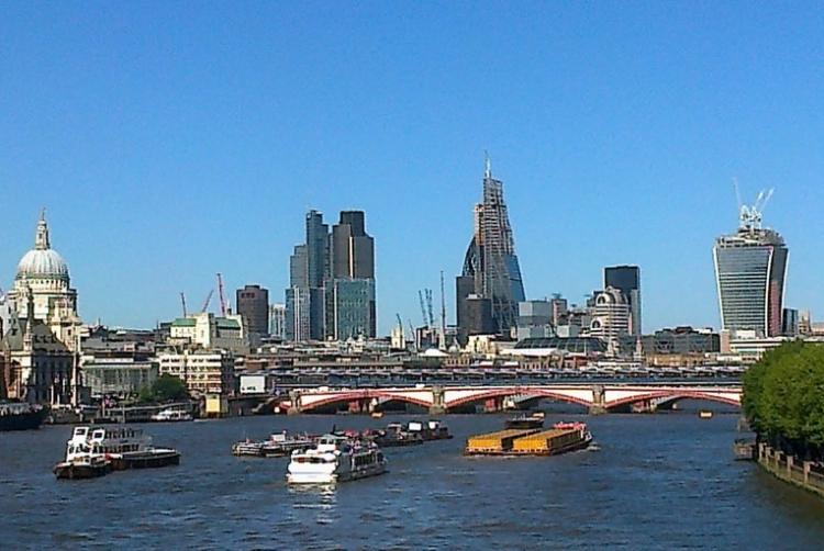 The city from Waterloo Bridge 003