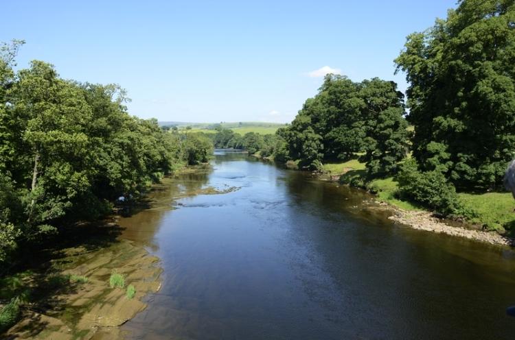 The River Eden at Armathwaite