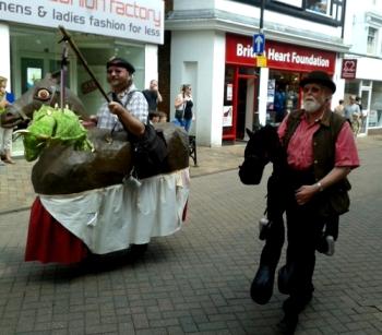Hobby Horse Parade