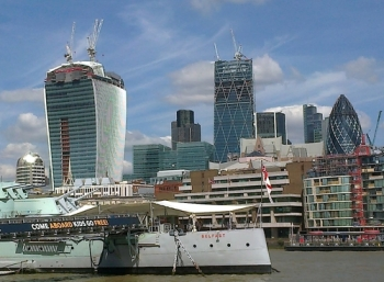 The Walkie Talkie, Cheese Grater and Gherkin!