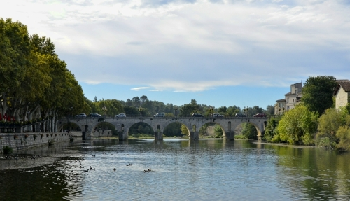 old bridge Sommières